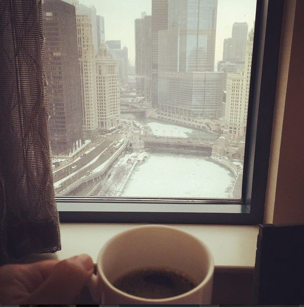 CoffeeOverlookingChicago