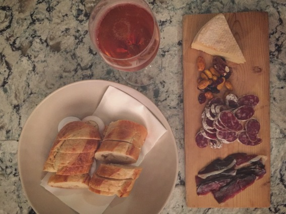 Charlevoix Charcuturie: Duck Proscuitto, Saucisson, Local Fromage & Cidre Rose